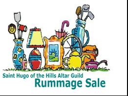 St. Hugo Altar Guild 46th Annual Rummage Sale