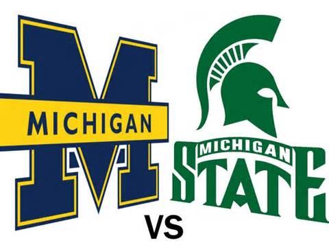 Michigan State vs Michigan Day